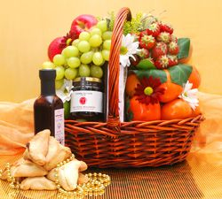 Purim Premium Fruit Basket