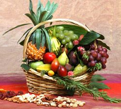 Shavuot Exotic Fruit Basket
