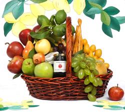 Premium Sukkot Gift Basket